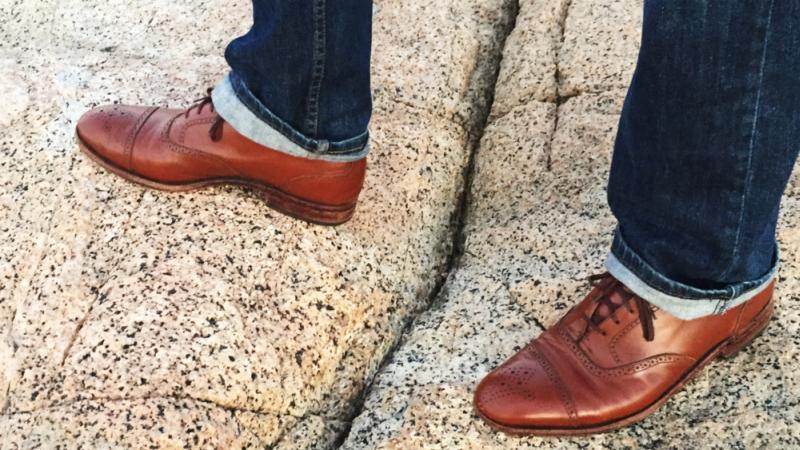 eleganckie buty włoskie ze skóry