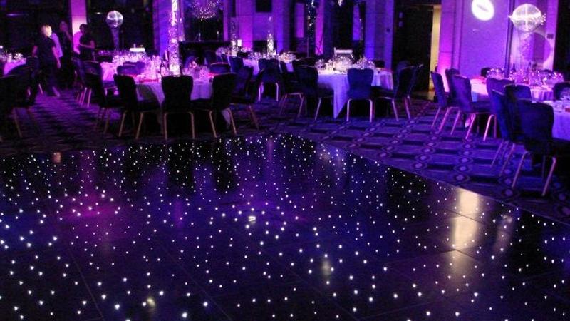 wesele - oświetlenie estradowe